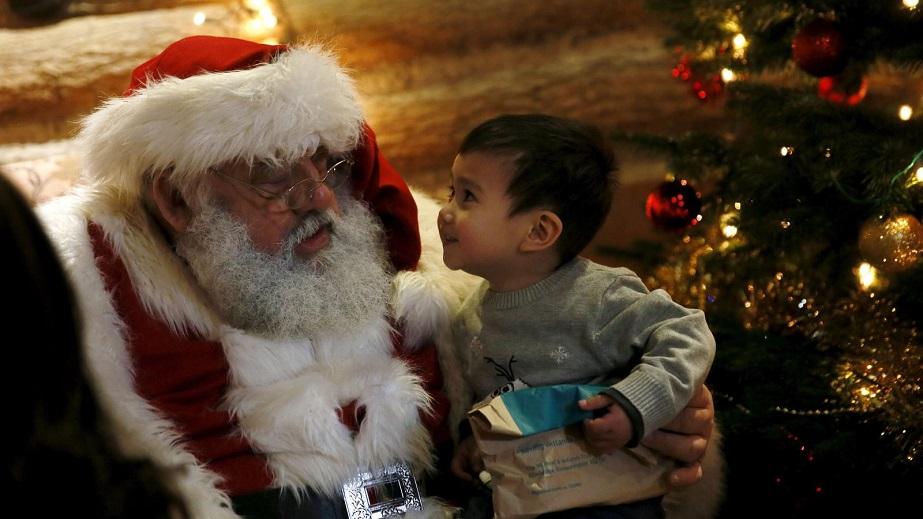 Santa talk to your child