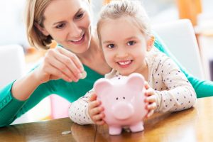 saving money as a stay at home mom