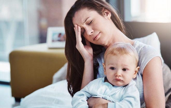 stressed-mum